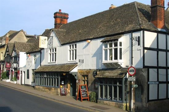 One Night Break with Breakfast and Dinner for Two at the White Hart Inn