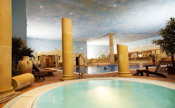 One Night Spa Break with Treatment and Dinner for Two at Whittlebury Hall Driving Experience 1