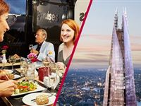 The View from The Shard and Two Course Thames Lunch Cruise for Two Experience Day