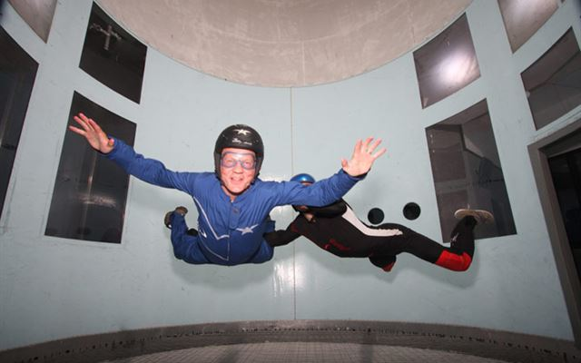 Indoor Skydive for Two at Twinwoods spadays main 1