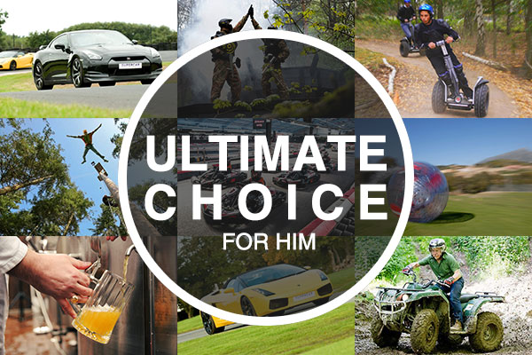 Ultimate Choice for Him - Gift Experience Voucher spadays main 1